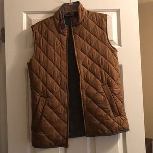 New men's light brown vest